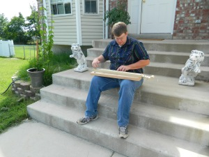 Dulcimer on porch